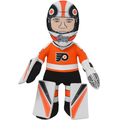 "Philadelphia Flyers Bundle: Carter Hart and Mascot Gritty Alternate Jersey 10"" Plush Figures"