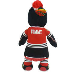 "Chicago Blackhawks Bundle: Mascot Tommyhawk and Jonathan Toews 10"" Plush Figures"