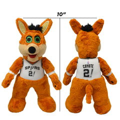 "San Antonio Spurs Mascot Coyote 10"" Plush Figure"
