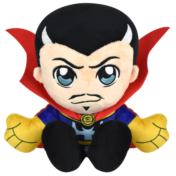 "Bleacher Creatures Marvel Dr. Strange 8"" Kuricha Sitting Plush- Soft Chibi Inspired Toy"