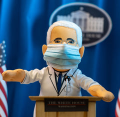 "Dr. Fauci 10"" Plush Figure"