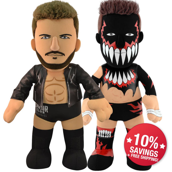 "WWE Finn Balor Bundle: Finn Balor Times Two-10"" Plush Figures (10% Savings)"