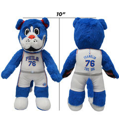 "Philadelphia 76ers Mascot Franklin 10"" Plush Figure"