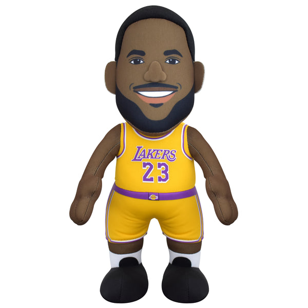 "Los Angeles Lakers LeBron James 10"" Plush Figure"