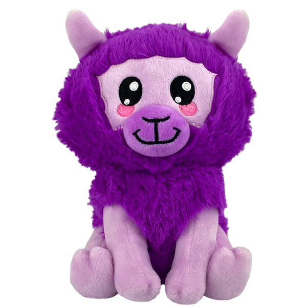 "Bleacher Creatures Kuricha 6"" Llama Sitting Plush - Soft Chibi Inspired Toy"