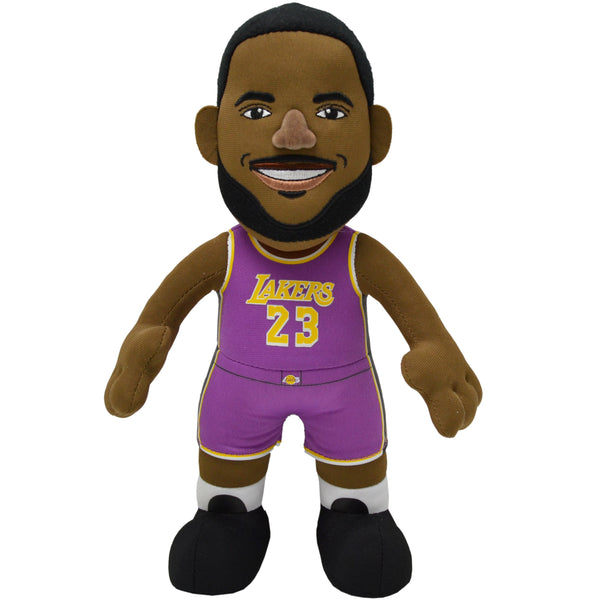 "Los Angeles Lakers® LeBron James Statement 10"" Plush Figure-PRESELL SHIPS 12/1"