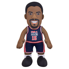 "Magic Johnson Dynamic Duo Bundle- USA Basketball and Los Angeles Lakers 10"" Plush Figures"