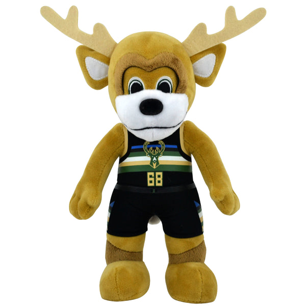 "Milwaukee Bucks Bango 10"" Mascot Plush Figure"