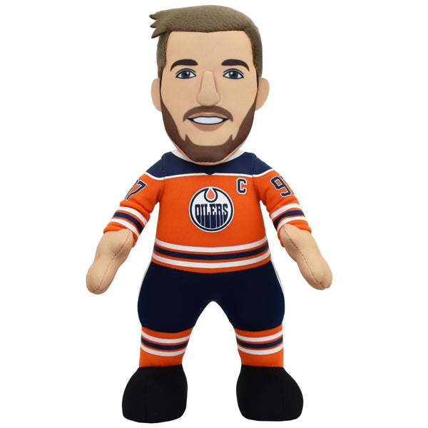 "Edmonton Oilers Connor McDavid 10"" Plush Figure"
