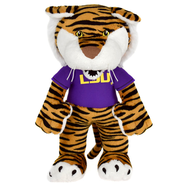 "LSU Mike the Tiger 10"" Mascot Plush-PRESELL SHIPPING OCTOBER 25th"