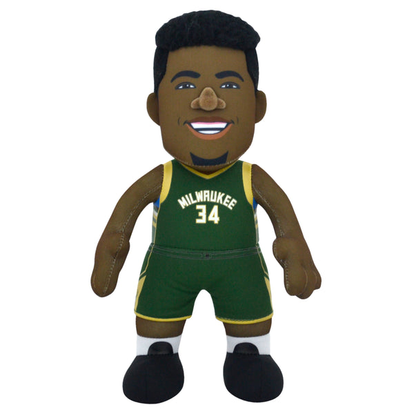 "Milwaukee Bucks Giannis Antetokounmpo 10"" Plush Figure- Presell Ships May 25th"