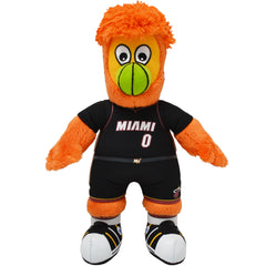 "Miami Heat Mascot Burnie 10"" Plush Figure"