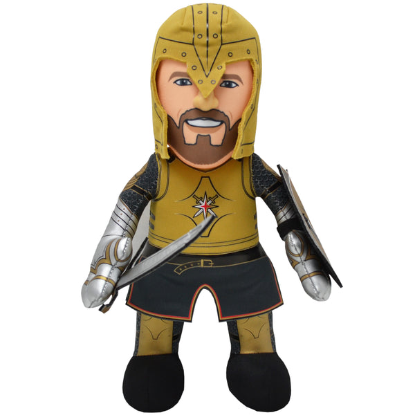 "Vegas Golden Knights® ""The Knight"" 10"" Plush Figure-PRESELL SHIPS 12-1"