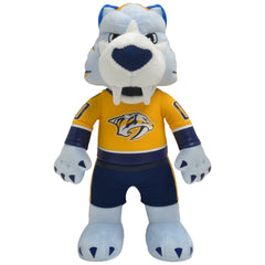 "Nashville Predators Bundle: Mascot Gnash and Pekka Rinne 10"" Plush Figures"
