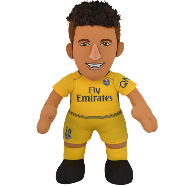 "FC Figure Paris St Germaine Neymar Gold Uniform 10"" Plush Figure"