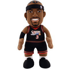 "Philadelphia 76ers Dynamic Duo: Allen Iverson & Joel Embiid 10"" Plush Figures (10% Savings!)"