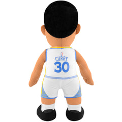 "Golden State Warriors® Dynamic Duo - Steph Curry Icon & Association Uniform 10"" Plush Figures (10% Savings)"