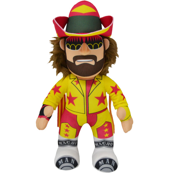 "WWE Randy ""Macho Man"" Savage 10"" Plush Figure (2nd Edition Release)-PRESELL SHIPS 6/20"