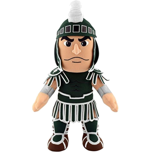 "Michigan State Spartans Sparty 10"" Mascot Plush Figure -PRESELL SHIPPING OCTOBER 25th"