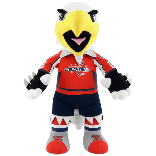 "Washington Capitals Slapshot NHL Mascot 10"" Plush Figure"