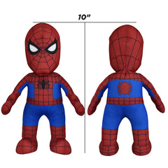 Marvel Plush Figure Bundle: Spider-Man and Iron Man Figures