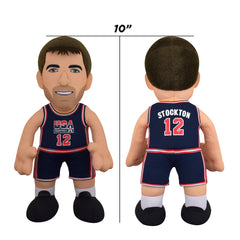 "USA Basketball John Stockton 10"" Plush Figure"