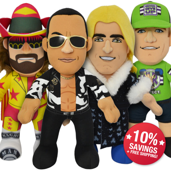 WWE Legends Bundle: John Cena, The Rock, Macho Man & Rick Flair (10% Savings)