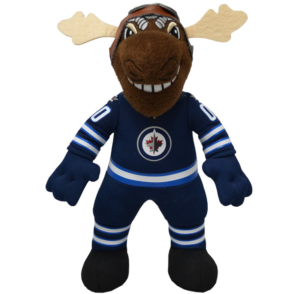 "Winnipeg Jets® Mick E Moose 10"" Mascot Plush Figure"