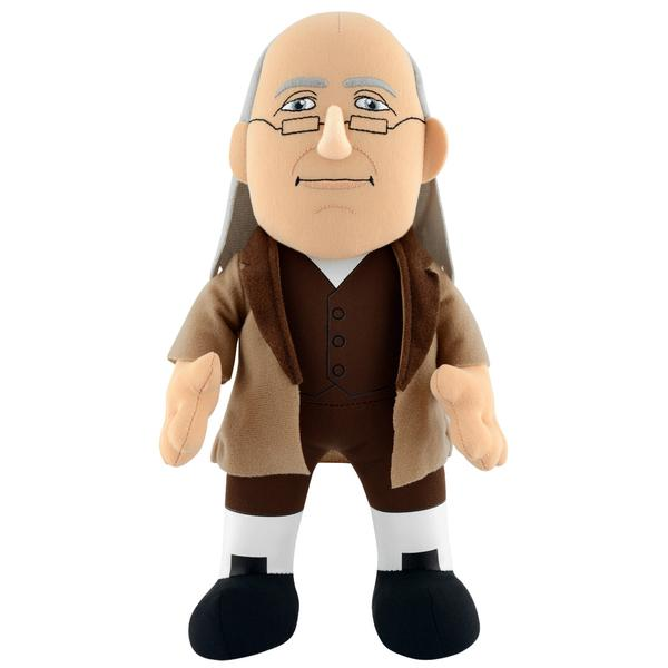 "Historical Figures: Benjamin Franklin 10"" Plush Figure"