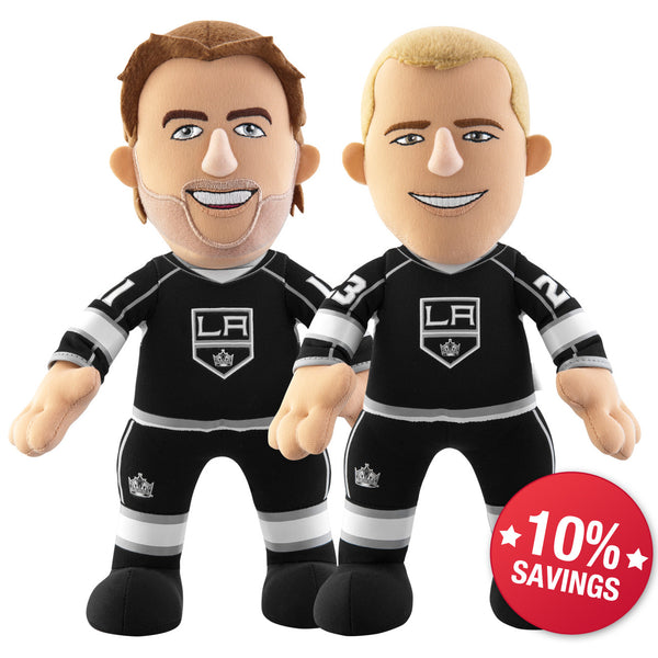 "Los Angeles Kings  Bundle: Anze Kopitar & Dustin Brown 10"" Plush Figures (10% Savings)"