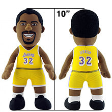 "Los Angeles Lakers Magic Johnson 10"" Plush Figure"