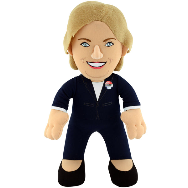 "2016 Presidential Candidate Hillary Clinton 10"" Plush Figure"