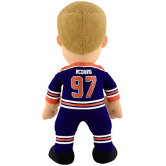 "Edmonton Oilers® Connor McDavid (Blue) 10"" Plush Figure"