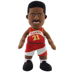 "Atlanta Hawks® Dominique Wilkins 10"" Plush Figure"