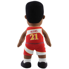 "Atlanta Hawks Bundle: Harry The Hawk and Dominique Wilkins 10"" Plush Figures"