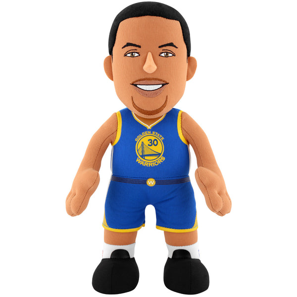 "Golden State Warriors® Steph Curry Road Jersey 10"" Plush Figure"