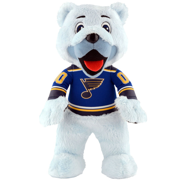 "St. Louis Blues® Louie The Bear 10"" Plush Mascot"