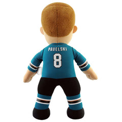 "San Jose Sharks Bundle: Tomas Hertl and Joe Pavelski 10"" Plush Figures"