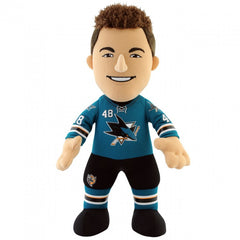 "San Jose Sharks Bundle: Tomas Hertl & Joe Pavelski 10"" Plush Figures (10% Savings)"