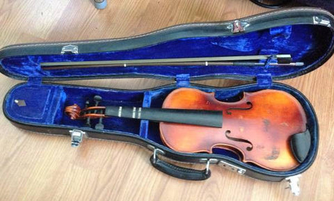 Henrich Lorenz 1969 Violin with Case and Bow 3/4 Size West Germany