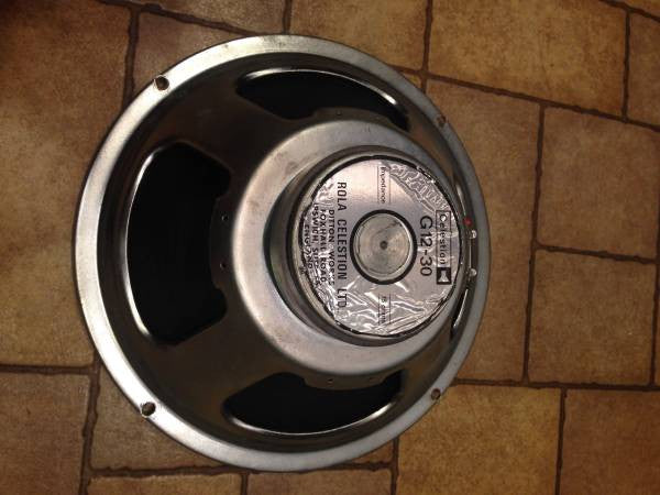 Celestion G12 30 Watt Speaker 15 Ohms Made In The UK