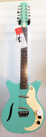 Danelectro The '59 Vintage 12-String Dark Aqua Electric Guitar
