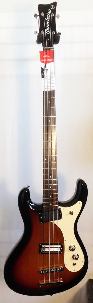 Danelectro The '64 Bass Guitar 3-Tone Sunburst Electric Bass Guitar