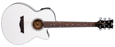 Dean AXS Performer A/E Classic White Acoustic Electric Guitar