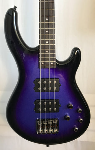 Dean Edge 3 Electric Purple Metallic Burst Bass Guitar