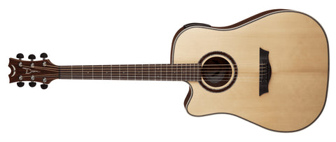 Dean Natural Series NSDC Gloss Natural Lefty