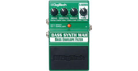 DigiTech XBW X-Series Bass Synth Wah Bass Envelope Filter Effects Pedal