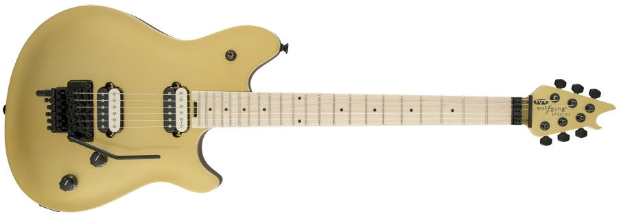 EVH Wolfgang Special Gold with Maple Fretboard