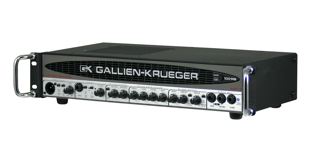 Gallien-Krueger 1001RB-II 700/50W Biamp Bass Head