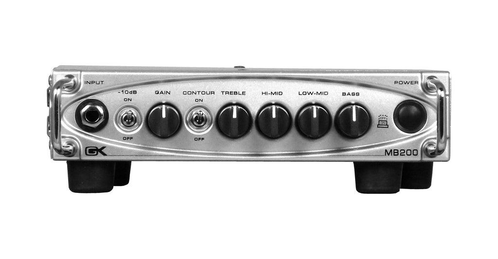 Gallien-Krueger MB-200 200W Ultra Light Bass Amp Head